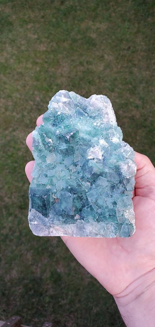 Fluorite Crystal Cluster