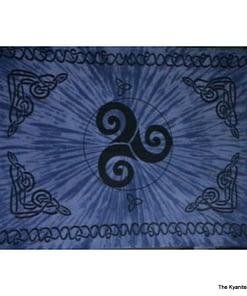 sm tapestry celtic swirl blue