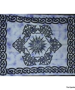 sm tapestry celtic sun design purple