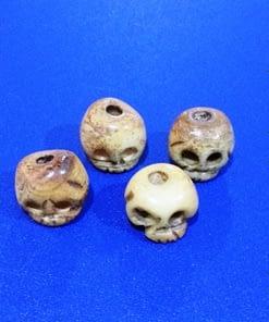 Skull Beads Bone