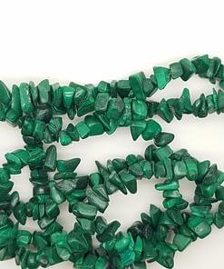 Malachite Chip beads Kyanite King