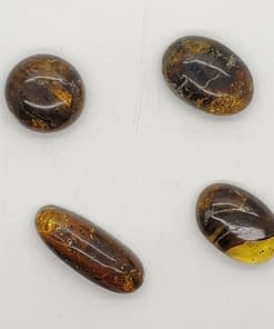 amber cabochons group7