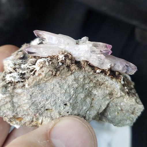 Vera Cruz Amethyst Kyanite King Minerals