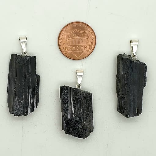 black tourmaline pendant jewelry