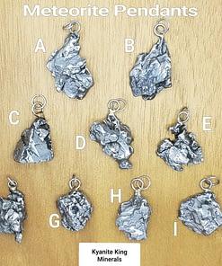 Meteorite pendants campo del cielo